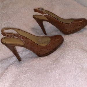 Brown Size 6 heels
